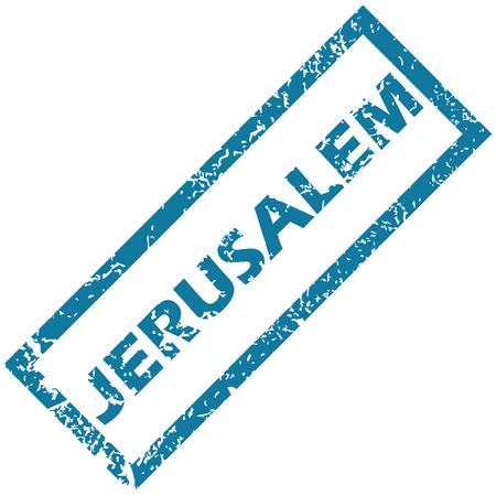 jeruzalem: Jerusalem rubber stamp