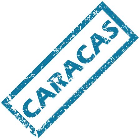 caracas: Caracas rubber stamp