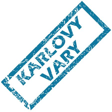 karlovy: Karlovy Vary rubber stamp