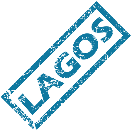 lagos: Lagos rubber stamp