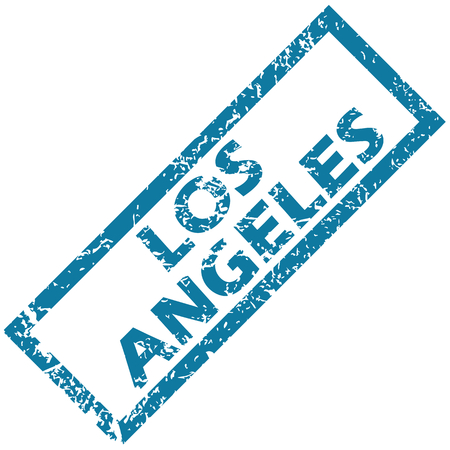 angeles: Los Angeles rubber stamp