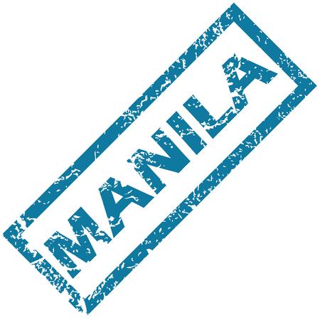 manila: Manila rubber stamp
