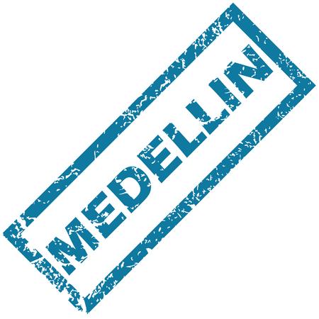 medellin: Medellin rubber stamp