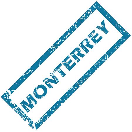 monterrey: Monterrey rubber stamp
