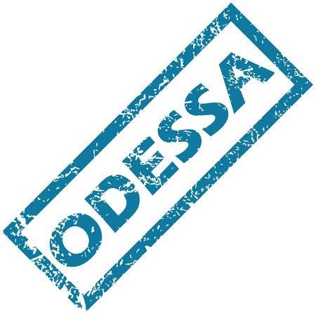 odessa: Odessa rubber stamp