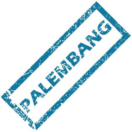 sumatra: Palembang rubber stamp