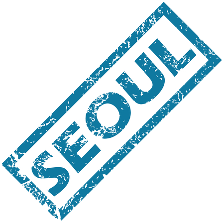 seoul: S�oul tampon en caoutchouc