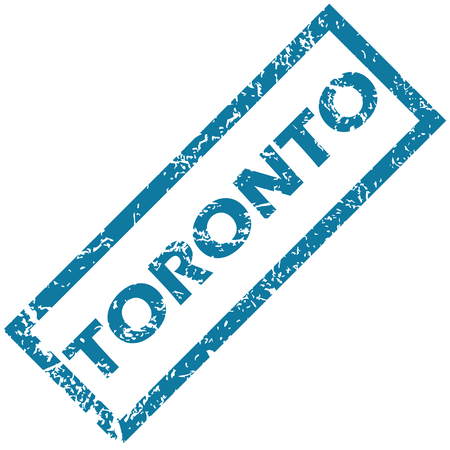 toronto: Toronto rubber stamp Illustration