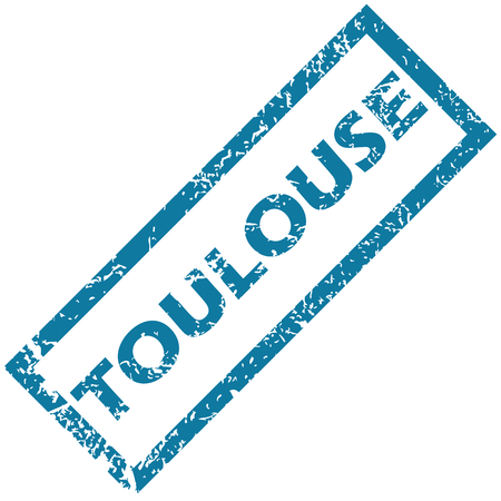 toulouse: Toulouse rubber stamp