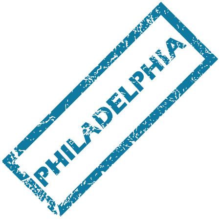philadelphia: Philadelphia rubber stamp
