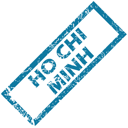 chi: Ho Chi Minh rubber stamp