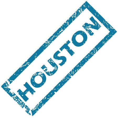 houston: Houston rubber stamp