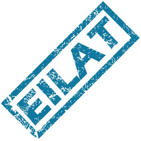 eilat: Eilat rubber stamp