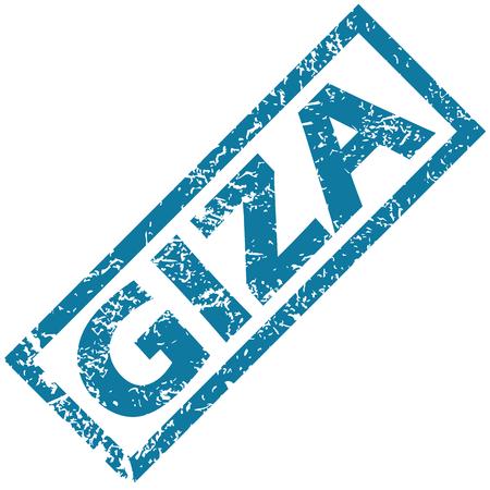 giza: Giza rubber stamp
