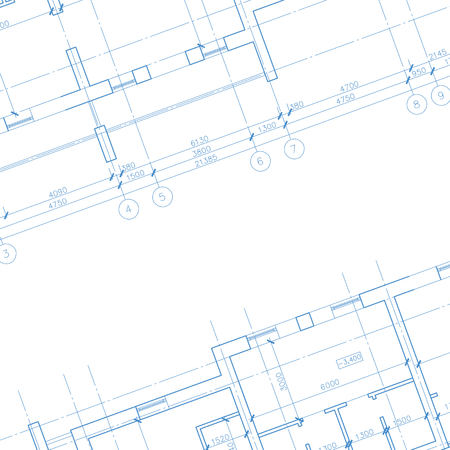 Architecture blueprint background
