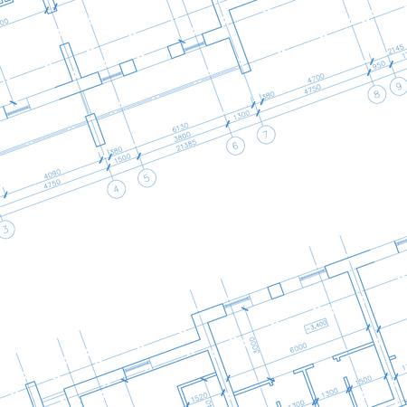 Architecture blueprint fond Banque d'images - 40162931