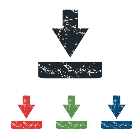 tearing down: Download grunge icon set