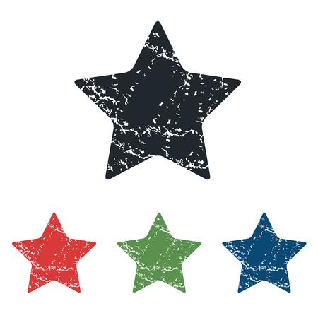 ideogram: Favorite grunge icon set
