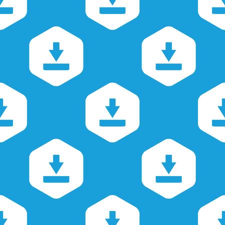 repeats: Download hexagon pattern