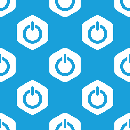 repeats: Power hexagon pattern