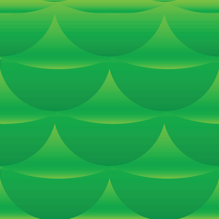 repeats: Green scales pattern Illustration
