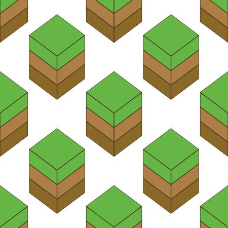 grass plot: Empty ground pattern