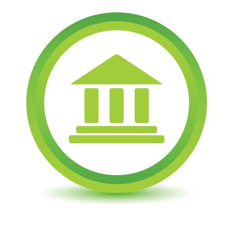 volumetric: Classical building volumetric icon