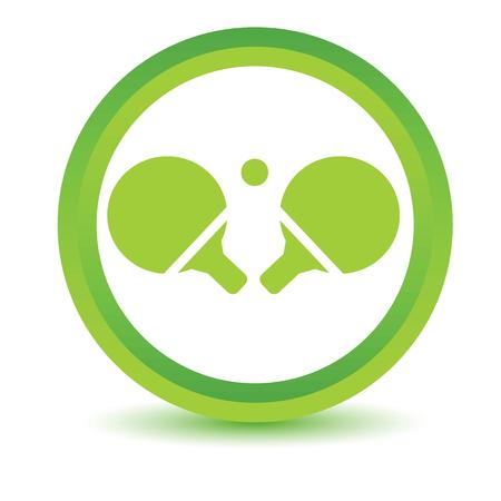 volumetric: Raquetas de tenis icono volum�trica Vectores
