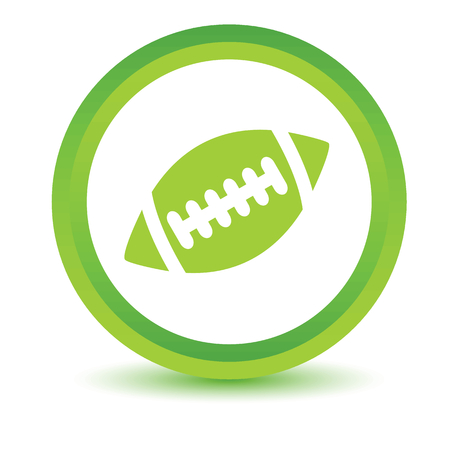 volumetric: Rugby icono de la bola volum�trica