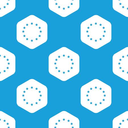 eu: EU emblem hexagon pattern