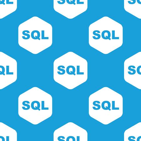 SQL hexagon pattern