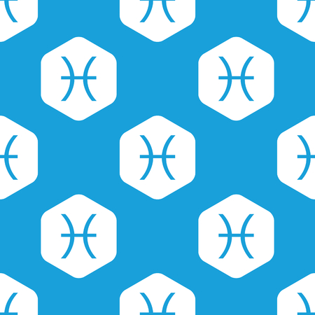 ecliptic: Pisces hexagon pattern