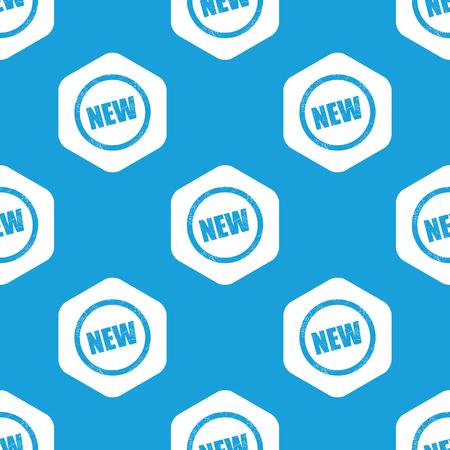newness: NEW hexagon pattern Illustration
