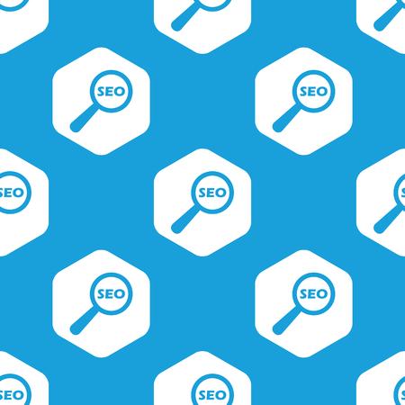 nuance: SEO search hexagon pattern