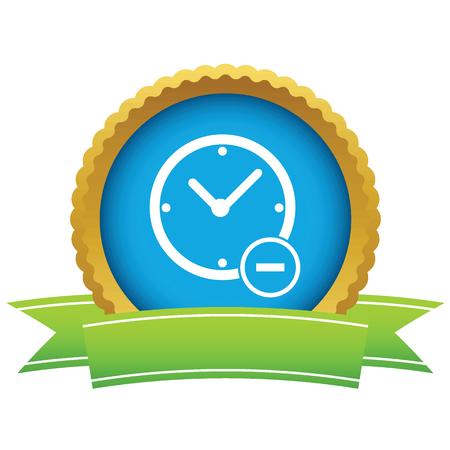 remove: Remove time round icon