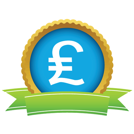 sterling: Pound sterling round icon