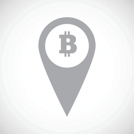 net trade: Bitcoin pointer icon