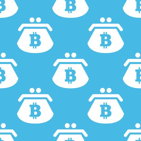 purse: Bitcoin purse pattern