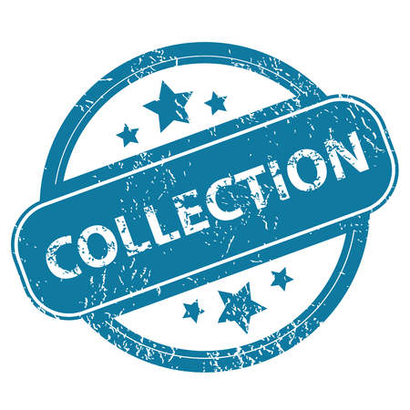 archive site: COLLECTION round stamp