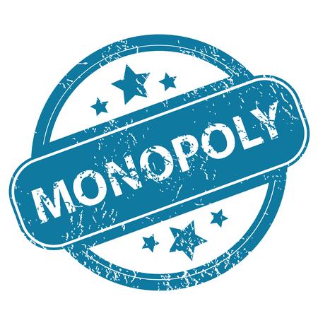 monopoly: Sello redondo MONOPOLY