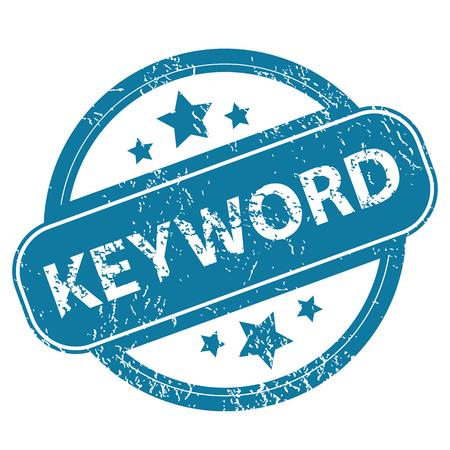 keyword: KEYWORD round stamp Illustration