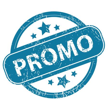 promo: PROMO round stamp