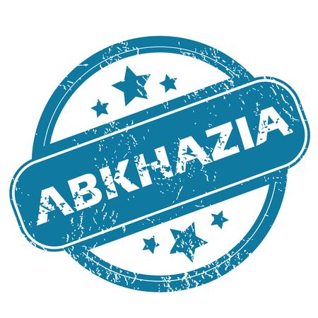 abkhazia: ABKHAZIA round stamp