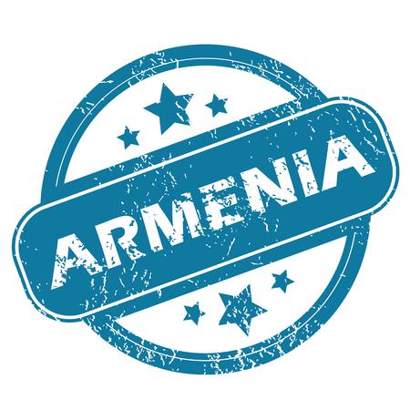archive site: ARMENIA round stamp
