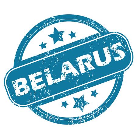 belarus: BELARUS round stamp