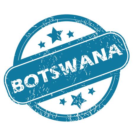 botswana: BOTSWANA round stamp