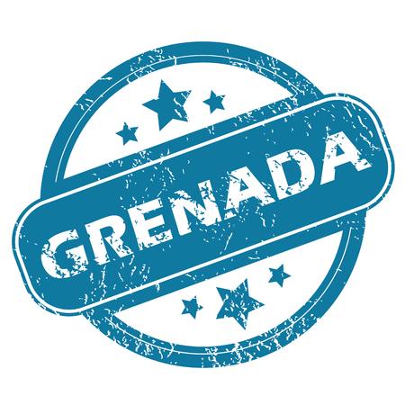 grenada: GRENADA round stamp