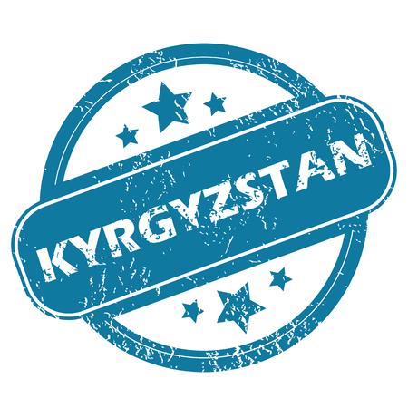 kyrgyzstan: KIRGUIST�N sello redondo