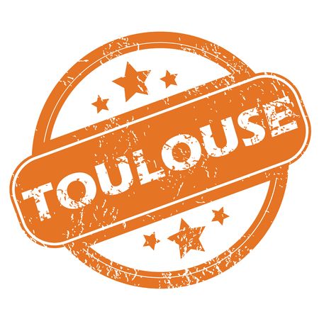 toulouse: Toulouse round stamp