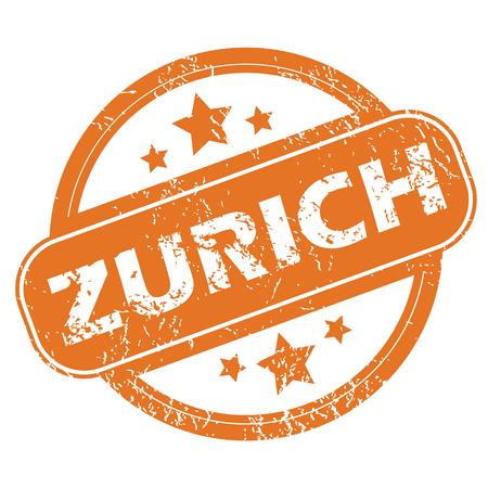 archive site: Zurich round stamp